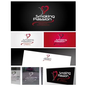 Nuovo negozio logo sigaretta elettronica