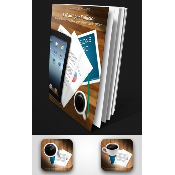 Copertina libro ed icona per iPad