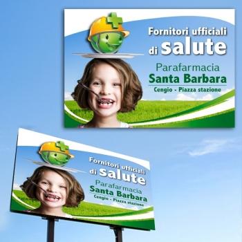 Creazione di pannello pubblicitario