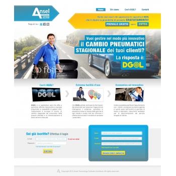 landing page servizio web
