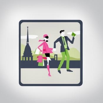 Illustrazione icona App per smartphone