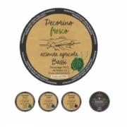 Etichetta formaggio pecorino