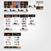Home page sito vendita abbigliamento