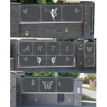 Brief Pannelli Per Cancello E Recinzione Esterna