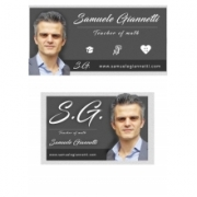 Samuele Giannetti Math teacher